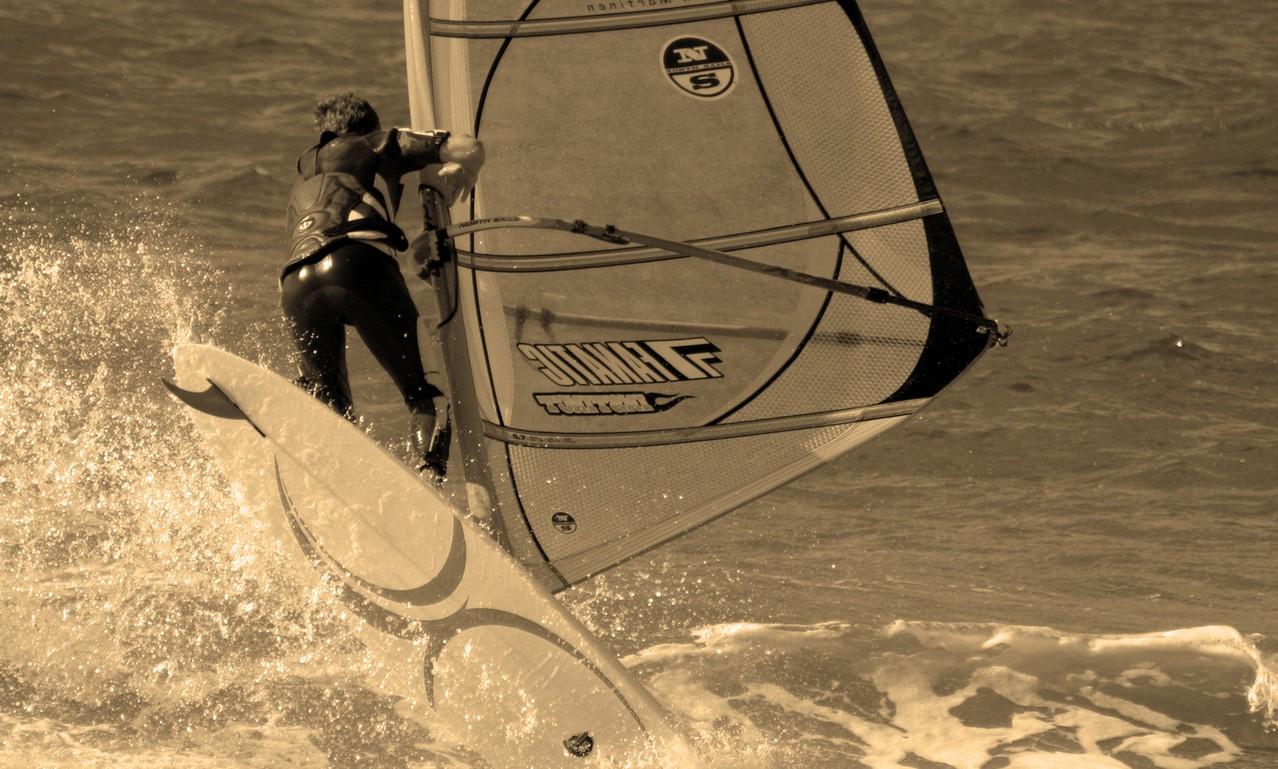 Na czym polega windsurfing?